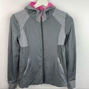 Ivivva reversible jacket with ruffled bottom half